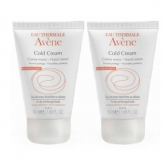 Avene Duo Crema Manos Al Cold Cream 2x50ml