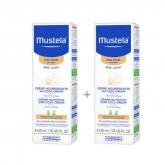 Mustela Crema Nutritiva Facial 40ml Set 2 Piezas