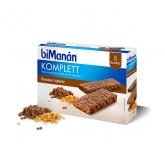 Bimanan Sustitutive Barritas Chocolate Komplett 8 Unidades