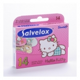 Salvelox Hello Kitty Apósitos Infantiles 14 Unidades