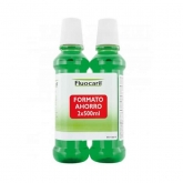 Fluocaril Mundwasser Bi Fluore 2x500ml Duo