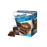 Bimanan Sustitutive Snack Bombones Crujientes De Chocolate  10 Unidades