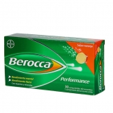 Berocca Performance 30 Comprimés Effervescents Orange