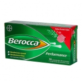 Berocca Performance 30 Brausetabletten Red Fruit