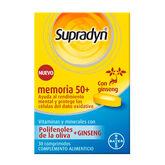 Supradyn Memoria 50+ 30 Comprimidos