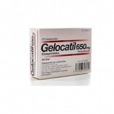 Gelocatil 650mg 12 Comprimidos