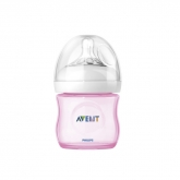 Avent Biberon Natural Rosa Scf691/17 125ml 0m+