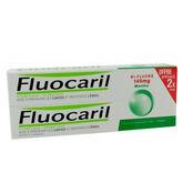 Fluocaril Pasta Bi-Flúor Menta 145mg 2x75ml