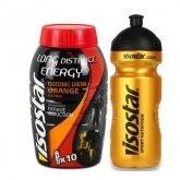 Isostar Long Energy Bebida Isotónica Sabor Naranja 790g + Bidón Oro