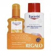 Eucerin Sun Spray Transparent Spf50 200ml Set 2 Productos
