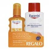 Eucerin Sun Spray Transparent Spf30 200ml Set 2 Productos