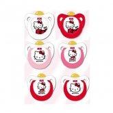 Nuk Chupete Trendline Hello Kitty Surtido T1 Látex 0-6 Meses 2 Unidades
