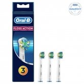 Oral-B FlossAction Cabezal De Recambio 3Uds.