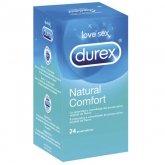 Durex Natural Comfort 24 Preservativos