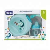 Chicco Let's Get Started 6m+ Azul Set 3 Piezas