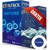 Control Pack Nature 24 Unidades + Control Ultra Feel 6 Unidades