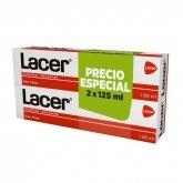 Lacer Pasta Dentífrica Antiplaca Anticaries 2x125ml
