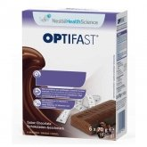 Optifast Sabor Chocolate 6 Barritas