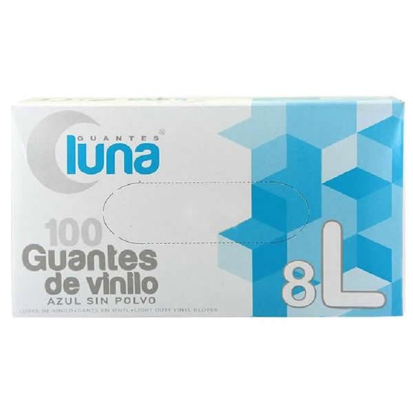 Guantes Luna Guantes en Vinilo sin Polvo Talla /única Multicolor
